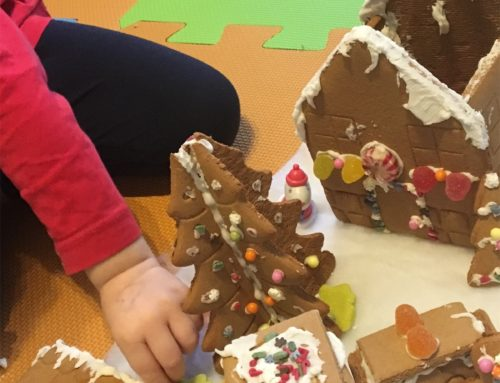 Gingerbread house for Peppa Pig