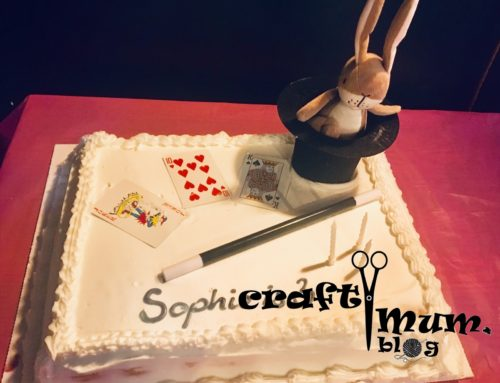 Cake decor – magician theme