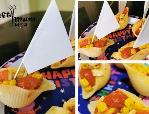 Pasta shells boats
