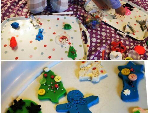 Playdoh Christmas cookies