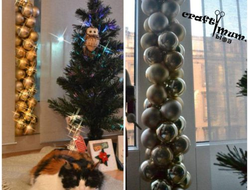 Baubles garland