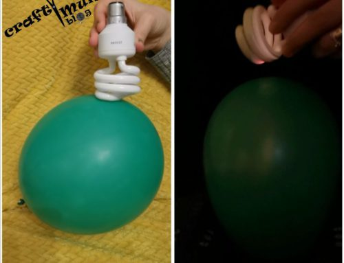 Lighting a bulb with static electricity