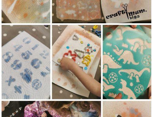 Spray paint impressions